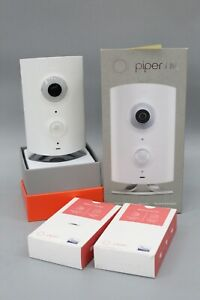 iControl Piper NV Night Vision HD Video Security Camera w/ 2 Door Window Sensors