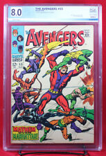 AVENGERS #55 (Marvel 1968) PGX 8.0 VF Very Fine - First Appearance ULTRON!!