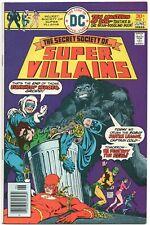 Secret Society Of Super-Villains 1 DC 1976 FN VF Batman Flash Superman