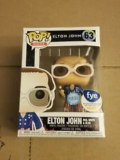 Funko Pop! Rocks: Elton John - Elton John Glitter (Red, White, & Blue) #63 Nib