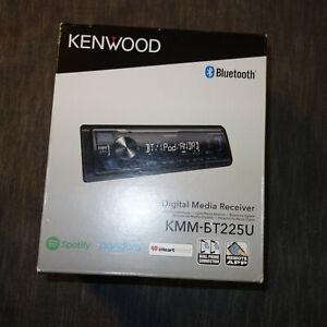 Kenwood KMM-BT225U Bluetooth Digital Media Receiver  AM FM AUX USB