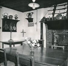 ST-VINCENT-SUR-JARD c. 1960 -Salle à Manger Maison de Clémenceau Vendée-Div 5683