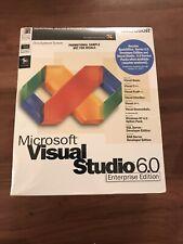 Microsoft Visual Studio 6.0 Enterprise Edition sealed Genuine Promotional Sample