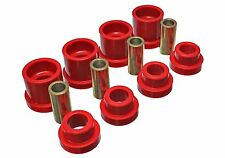 Energy Suspension Rear Subframe Mount Bushing Kit For 240SX 95-98 S14 (RED)