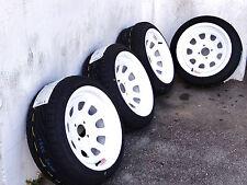 15X8 WHITE DIAMOND RACING RIMS W/ 195-45-15 TOYO PROXES T1R TIRES**EF EG EK **
