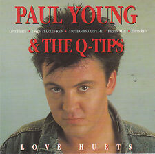 CD 14T PAUL YOUNG & THE Q-TIPS LOVE HURTS