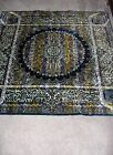 Beautiful Purple Mandala Tapestry Morocco Rayon Cotton RARE