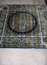 Beautiful Purple Mandala Tapestry Morocco Rayon Cotton RARE