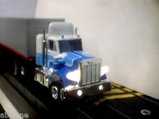 Aurora AFX Peterbuilt Semi Truck with Lights - Magnatraction chas b