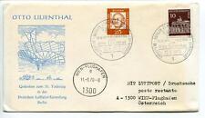 FFC 1970 Lufthansa Volo Speciale Otto Lilienthal Anniversario 75 Anni Vienna