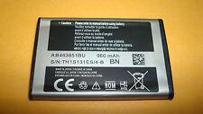 Original Samsung S3650 S3370 S7070 L700 F400 Akku Batterie AB463651BU / BA