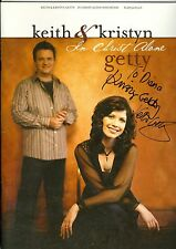Keith & Kristyn Getty In Christ Alone AUTOGRAPED songbook Christian sheet music