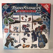Transformers Armada Brand Stickers 175 + Autobots Decepticons Hasbro 2004 New
