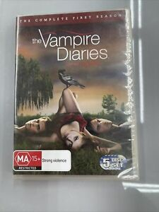 The Vampire Diaries The complete first season 5DVD Sealed 938mins Region 4 AUS