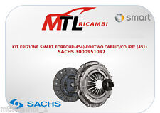 KIT FRIZIONE SACHS 3000951097 SMART FORTWO COUPE'/CABRIO (451)