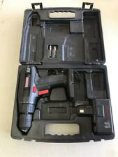 Craftsman 9.6 Volt Drill, 1 battery, no charger, heavy plastic snap lock case