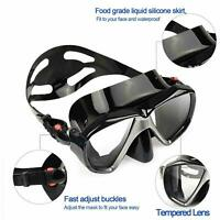 Diving Mask Anti Fog Full Face Snorkel Swimming Goggles Mask for Adult Kids USA