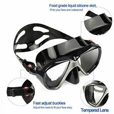 HD Diving Mask Anti Fog Full Face Snorkel Swimming Goggles Mask For Adult Kids