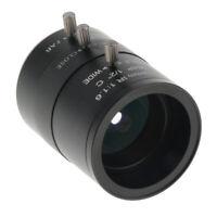 "4 12mm Varifokusobjektiv f / 1.6 1/2 ""manuelle Zoom C Mount Objektive für"