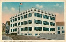 A View Of The Frank E. Davis Company Building, Gloucester, Massachusetts MA