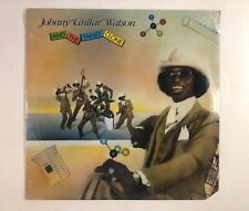 JOHNNY GUITAR WATSON And The Family Clone LP DJM501 US 1981 SEALED Funk 1G