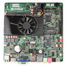 Intel Atom D2550 All-in-One thin Mini-ITX Mainboard D2550MT1.8GHz fan 20mm HDMI