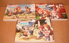 Non Non Biyori Vol. 1,2,3 Manga Graphic Novels Set English