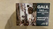 Galil Rifle Operator's Manual