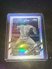 New listing 2021 Topps Chrome Negative Refractor NATE PEARSON Rookie Card RC - Blue Jays SP