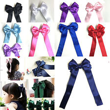 Unbranded Satin Hair Barrettes for Girls