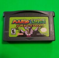 Mario & Luigi: Superstar Saga (Nintendo Game Boy Advance, 2003) ***Tested