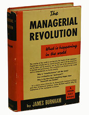 The Managerial Revolution by JAMES BURNHAM ~ First Edition 1941 ~ 1st Printing