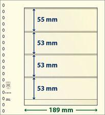 Lindner T-Blanko-hojas mit cuatro Bolsas de 10 Paquete Art Núm. 802 408