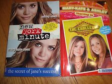 2~Books~MARY-KATE & ASHLEY/NEW YORK MINUTE(Secret Jane Success) & THE CHALLANGE