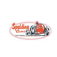 SPALDING CAMS PALMINI ENG. NHRA DRAG RACE HOT RAT ROD DECAL VINTAGE LOOK STICKER