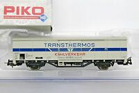 H0 1:87 AC Piko 54072 vagon mercancias DB Kühlwagen Transthermos ep.4   NEW