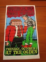 2002 Rock Concert Poster Queens Of The Stoneage Lindsey Kuhn S/N #201