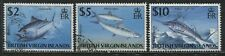 British Virgin Islands QEII Big Fish $2, $5, $10 used