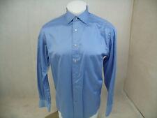 B938 BRANDOLINI BLUE DRESS SHIRT SIZE 15 1/2   VERY GOOD CONDITION
