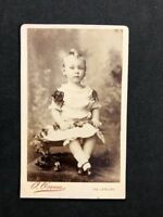 Victorian Carte De Visite CDV: Child: Owen: Salisbury: Boy In Dress 2 of 2