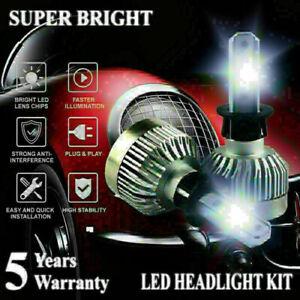 Fanless H3 1500W 225000LM Car LED Headlight Bulbs Conversion kit Fog Light White