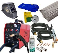 IDEAL PRAKTIK 200A inverter welder GASLESS FLUX IGBT WELDING SET