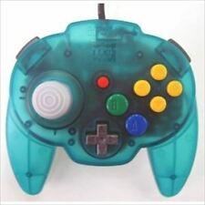 Used Nintendo 64 Ocean Blue Controller Hori Pad Mini 64 from Japan