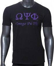 Omega Psi Phi 3D Embroidered Signature Mens T-Shirt