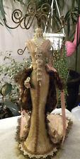 "Victorian Mannequin- Jewelry Display-Decorative Elegant Multi Use 15"" - EB103"