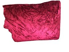 Laura Ashley 3 Seater Mortimer Caitlin Velvet Cranberry Sofa Replacement Covers