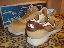 VANS SERIO Runners 1986 Vintage Scarpe da corsa UK 7/8D USA NOS Sabbia