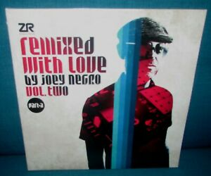 JOEY NEGRO Remixed With Love Vol Two ORIG 1st UK Z RECORDS 2016 MINT SEALED