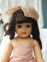 "Ideal Toni Doll P93 Tall Vintage 1950s (21"")High Color Gorgeous Face Original"