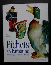 Livre Pichets en barbotine Maryse Bottero Massin pitcher book 197 pages